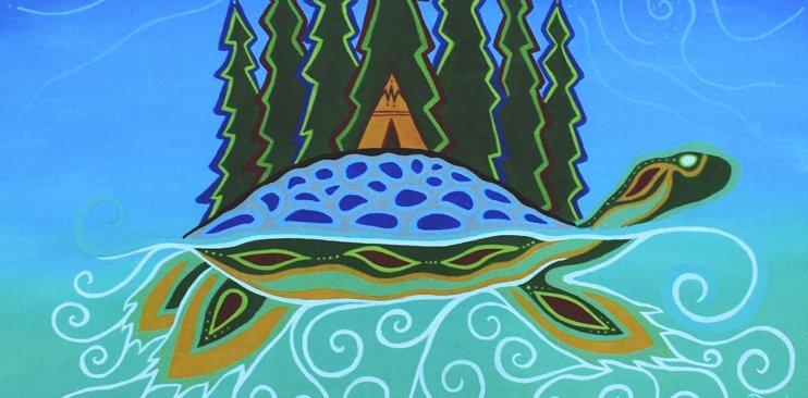 Patrick Hunter is a Two-Spirit Ojibway artist