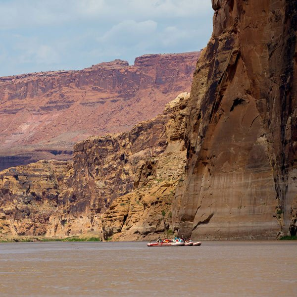 Colorado river through Cataract Canyon