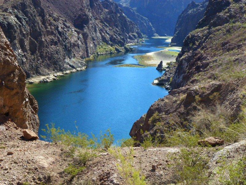 The Colorado River through Black Canyon