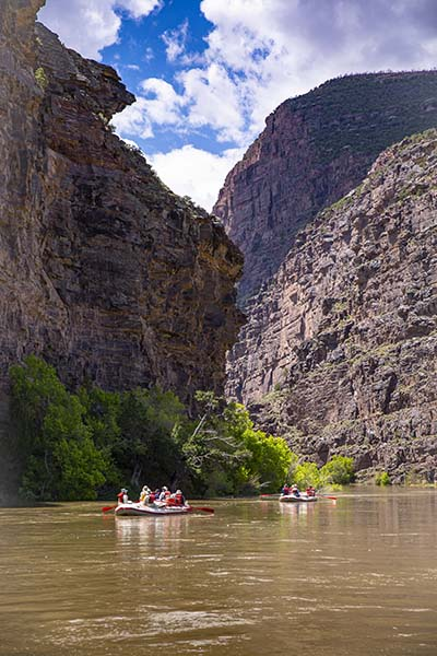 Green river Rafting